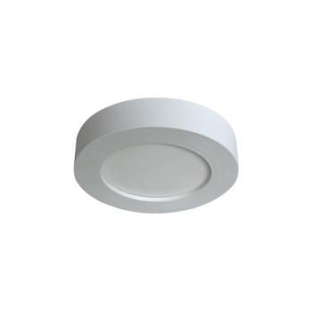 PLAFONIERA A LED TONDA 6W per locali senza controsoffitto