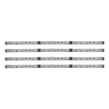 KIT 4 strisce a LED Rgb con telecomando ideali per giochi di luce
