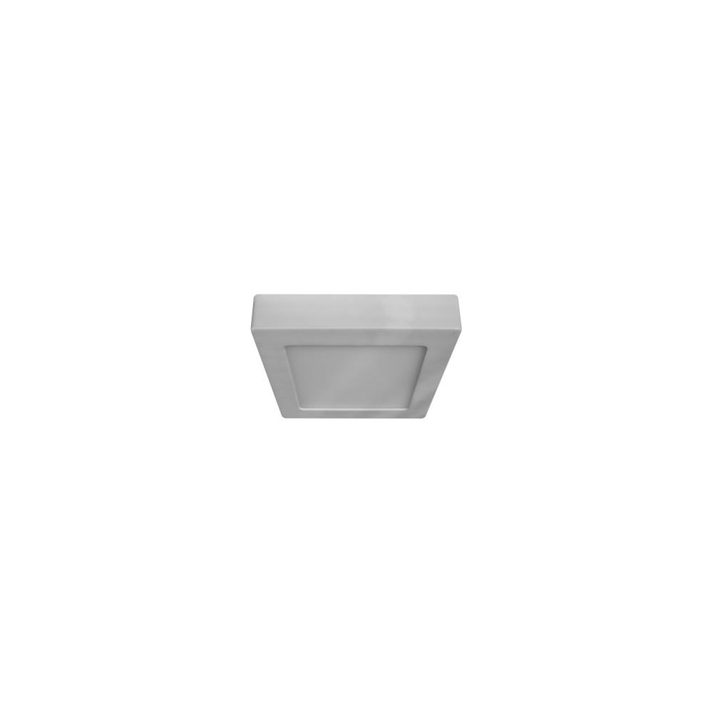 Plafoniera a led quadrata da soffitto o parete 6w for Plafoniere a led