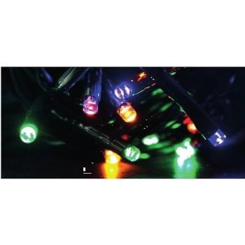 LUCI DI NATALE RGB, MULTICOLOR CON 8 GIOCHI DI LUCE. IDEALE PER ALBERI E VETRINE