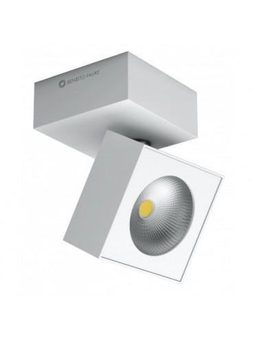 Plafoniera a led quadrata bianca da 14w Tricolore. Ideale nelle abitazioni, negli spazi espositivi e nelle vetrine.
