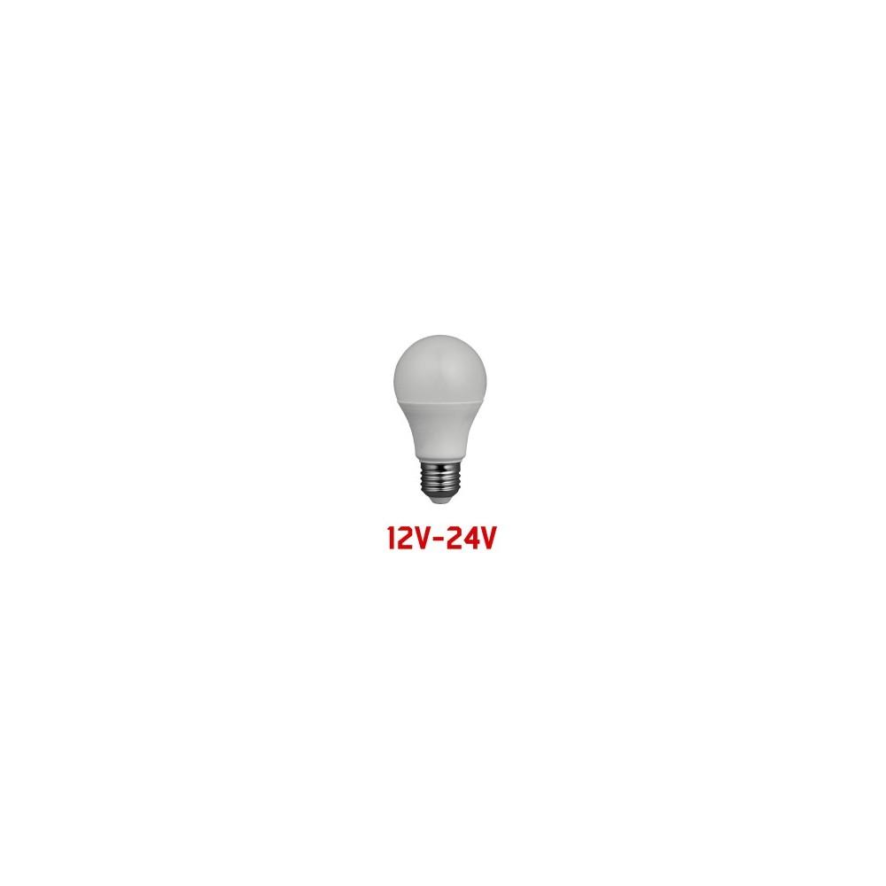 lampadina classica a led 10w e27 12 24v