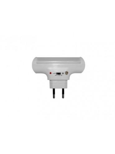 Lampada notturna a led ricaricabile. Ideale come lampada anti buio o lampada da emergenza.