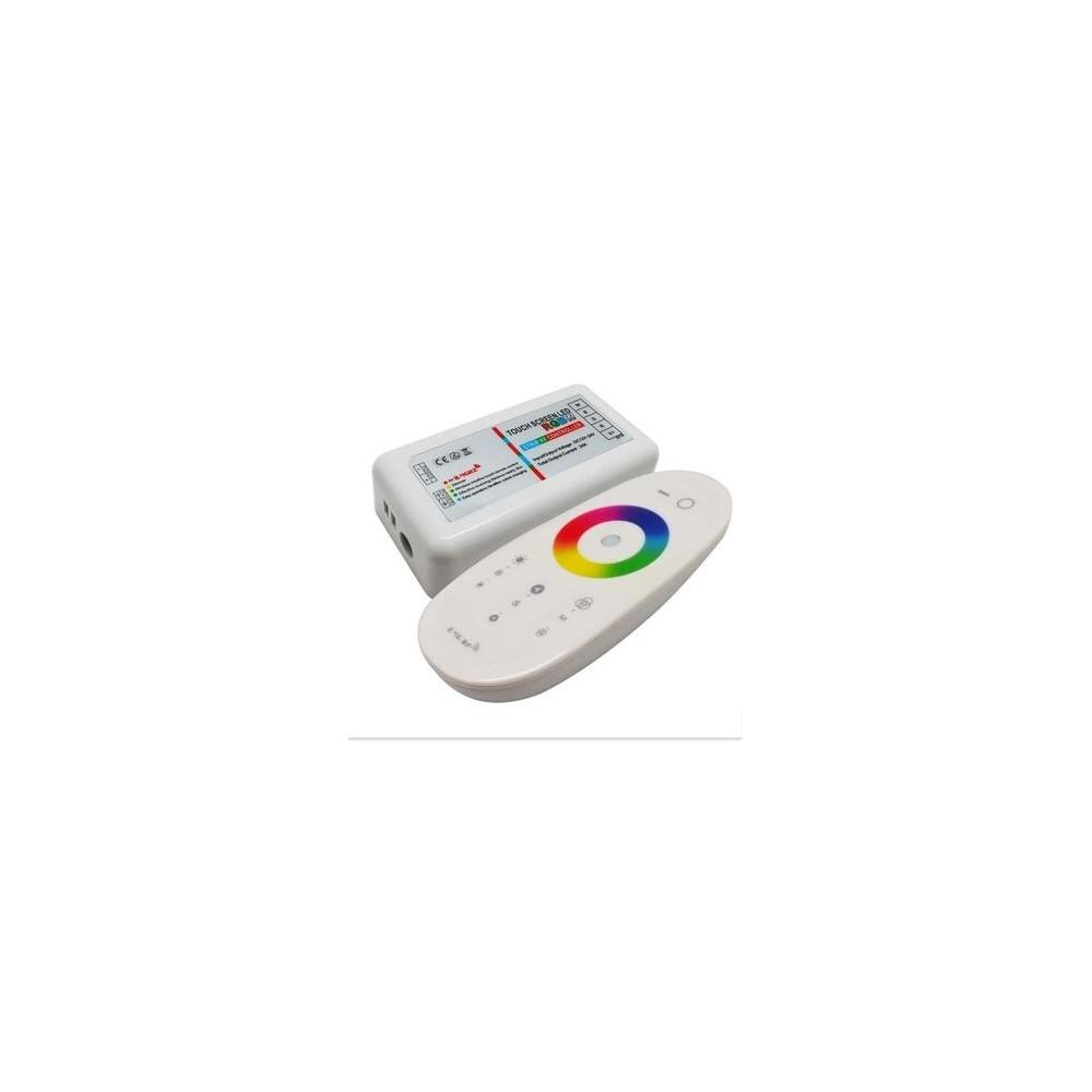 Controller con telecomando per striscia led rgb white for Striscia led rgb