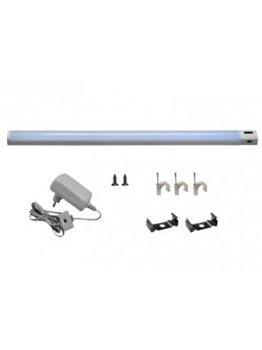 Kit barra a led 50cm 4000K multifunzione ideale da applicare sotto pensile o dentro i mobili.