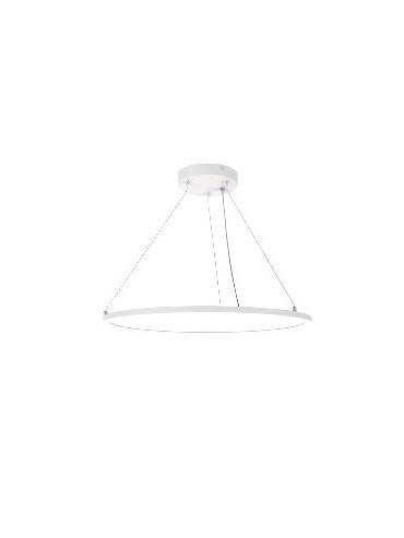 Pannello a led rotondo da 40 Watt di dimensioni ø60cm ideale in cucina o nei salotti o uffici. Pannello anti abbagliamento