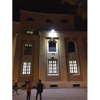 LINEAR LED 50W IDEALE PER ILLUMINARE CAPANNONI, OFFICINE, O FACCIATE DI SCUOLE, MUSEI E EDIFICI IN GENERE