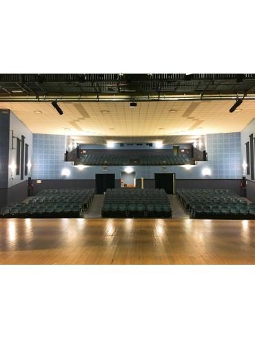 Applique in metallo e plexiglass a led da 30W. Applique moderna ideale nelle case, negli edifici pubblici e nei teatri.