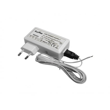 Alimentatore switching 24volt 24w con spina, ideale per strisce sottopensile