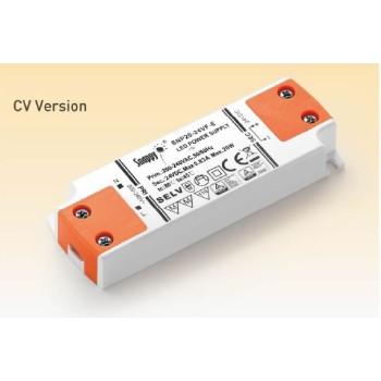 Alimentatore Snappy 20W 24V. Ideale da utilizzare anche fuori dalle scatole di derivazione, per strisce a led.