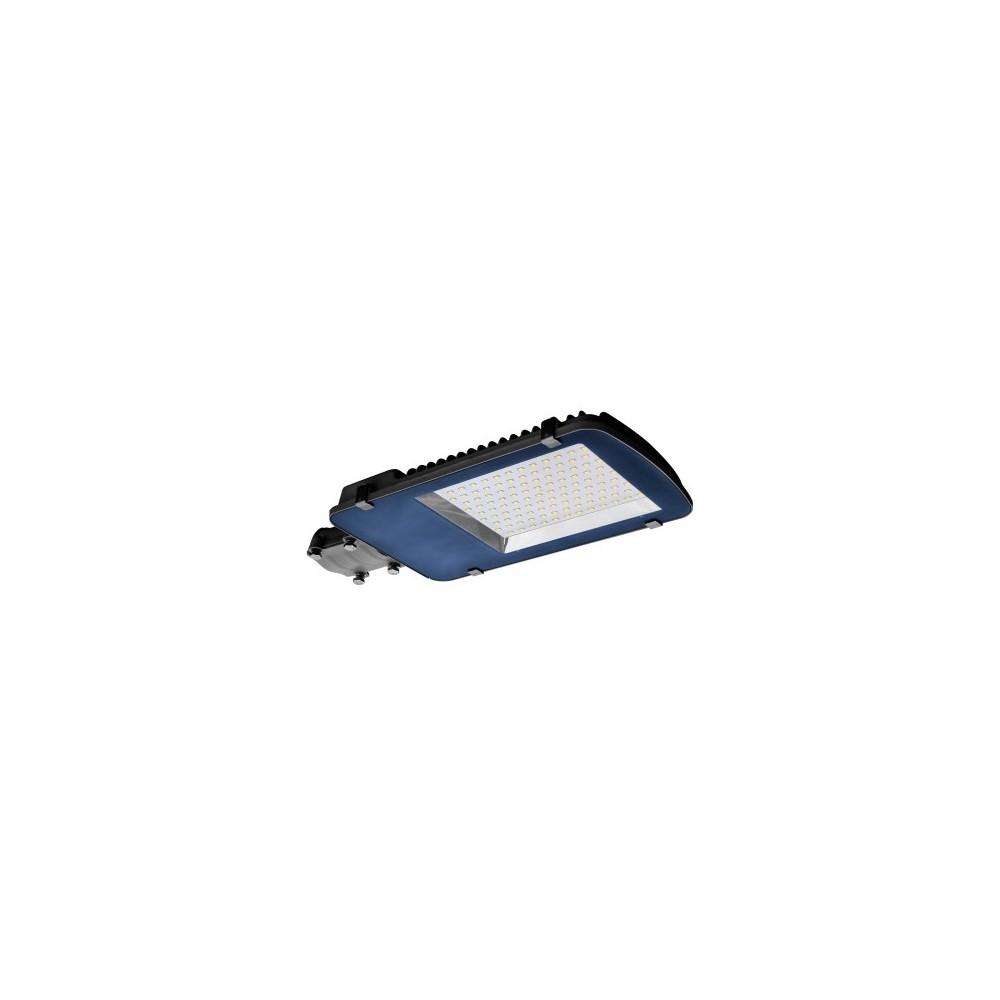 Lampione stradale a led da  100W, ideale nei grossi piazzali, all'esterno di fabbriche, capannoni o magazzini.