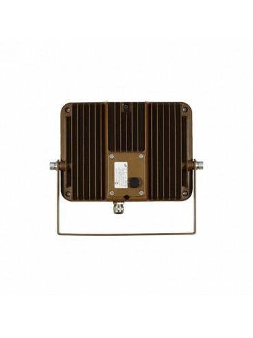 Faro a led sky 30W IP65 colore corten, ideale per ambienti con il legno, ristoranti pub o alloggi mansardati