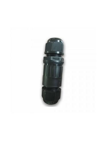 Raccordo stagno IP65 ideale da utilizzare con fari a led, lampioncini, applique e prodotti da esterno