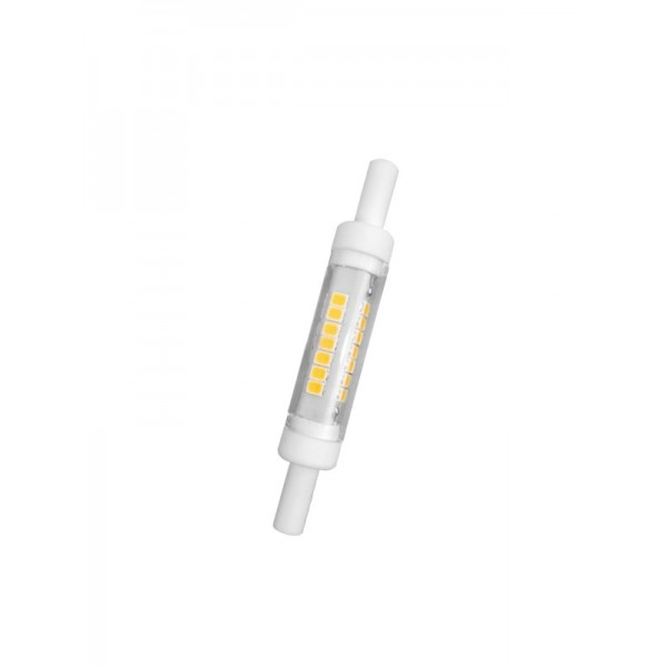 Lampadina a led r7s 78mm 5watt diametro ø12mm, ideale da sostituire le lampadine alogene