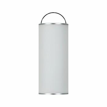 Lampada a led da 2,5w a batteria. Ideale su un tavolo esterno, in un gazebo o una tettoia. Moderna e dimmerabile.