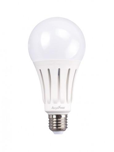 Lampadina a led ad alta potenza 20w attacco e27, ideale nei lampioni esterni, globi o piantane. 2000 lumen.