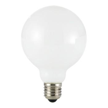 Lampadina a led a globo satinata con filamenti. Potenza 10watt. Ideale per ambienti vintage e di design.