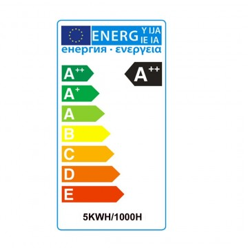 Lampadina a led r7s 78mm 5watt diametro ø12mm, ideale da sostituire le lampadine alogene. Certificazione energetica