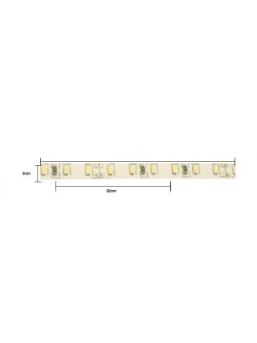 Striscia a led da 14,4W/M 24V ideale sopra pensile, sotto pensile, nei mobilifici o negozi.