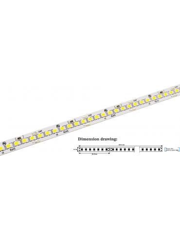 Striscia a led da 15Watt/metro 24V ideale sopra pensile, nei mobilifici o negozi. Ad alta luminosità, 2100 lumen/metro.