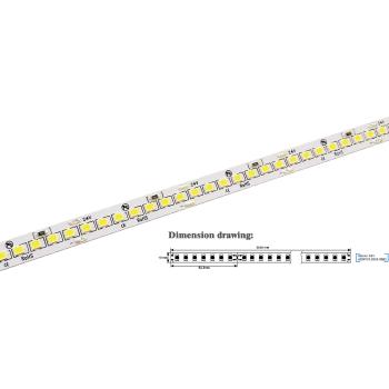 Striscia a led da 20Watt/metro 24V ideale sopra pensile, nei mobilifici o negozi. Ad alta luminosità, 2900 lumen/metro.