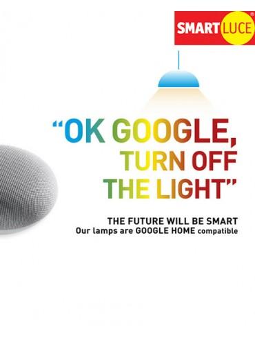 Smartluce Dimmer a Taglio di Fase Wifi per Collegamenti Smart con Alexa o Google Home