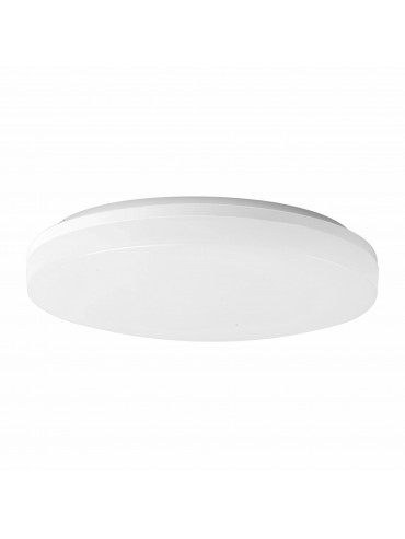 Plafoniera a led rotonda da 25watt con switch CCT integrato. IP54 da esterno.