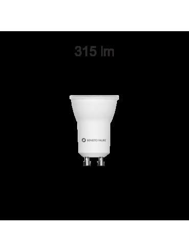 Faretto a led da 4watt 60° e diametro da 35mm. Ideale nelle vetrine e mobili. Faretto luminoso.
