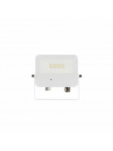 Faro a led Sky da 10watt con sensore di presenza integrato, IP65 da esterno. Ideale nel residenziale. Faro led bianco