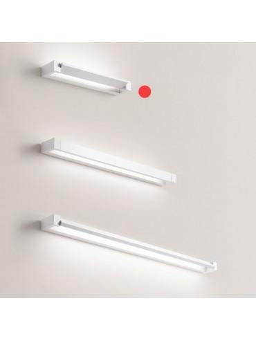 Applique a Led Orientabile Basculante Perenz 17w 1275lm 40cm Bianca. Colorazione regolabile con pulsante integrato. Serie Sway.