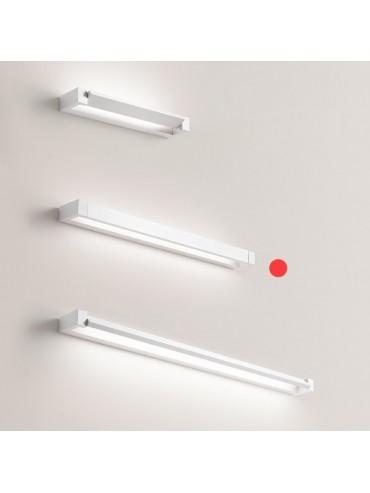 Applique a Led Orientabile Basculante Perenz 23w 2080lm 70cm Bianca. Colorazione regolabile con pulsante integrato. Serie Sway.